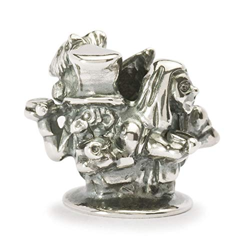 Trollbeads Silber Bead Englische Teeparty