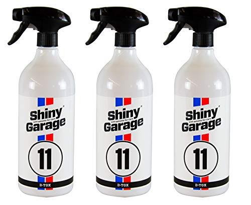 Shiny Garage 3X D-Tox Flugrost-Entferner Flugrostentferner 1 L Liter + Sprühkopf