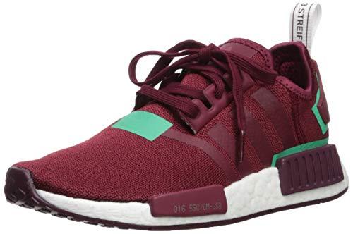 adidas Originals Damen NMD_r1, Collegiate Burgundy/Collegiate Burgundy/Grün, 38 EU