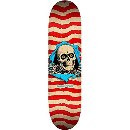 Powell Peralta Skateboard Deck Ripper NAT/Red 8.5' x 32'