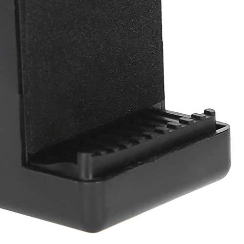 Tenedor del clip de la cámara, negro giratorio universal plástico del soporte fijo de la mochila para la mochila para el teléfono