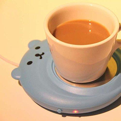 Bear Usb Mini Mug Warmer for Office Home Coffee Milk Tea
