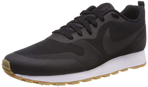 Nike Herren MD RUNNER 2 19 Laufschuhe, Schwarz (Black/Black/Anthracite/Gum Light Brown 001), 43 EU, (UK 8.5)