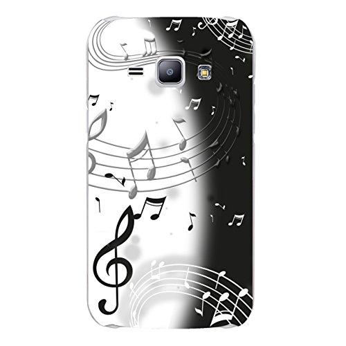 DISAGU Design Case Custodia Protettiva per Samsung Galaxy J1Custodia Cover–Motiv Musica