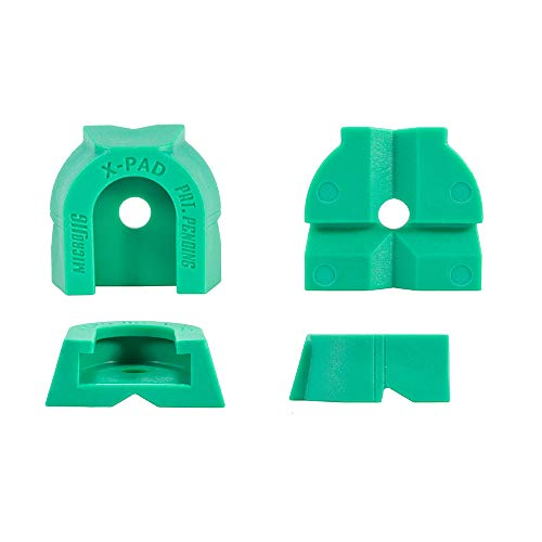 MICROJIG K4 X-Pad Accessory (4-Pack) Klemmzubehör, Grün