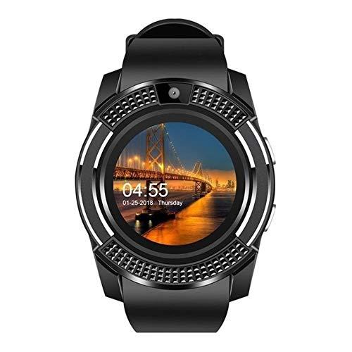 CloverGorge V8 1.22 Pulgadas Pantalla Grande Tarjeta de Reloj Inteligente Smart Wear Monitoreo del sueño Reloj Deportivo Contador de Pasos Reloj Inteligente