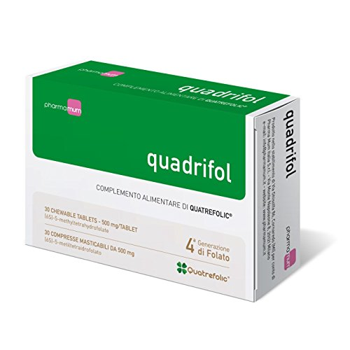 Pharma Mum Italia Quadrifol - 30 compresse masticabili