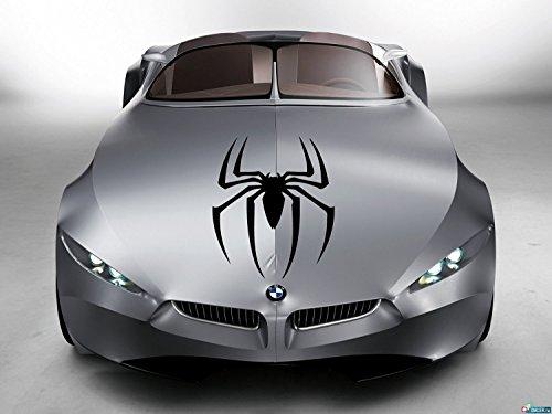 Car Hood Vinyl Sticker Decal Graphics Super Hero Web Famous Spider SL71 (15x23)