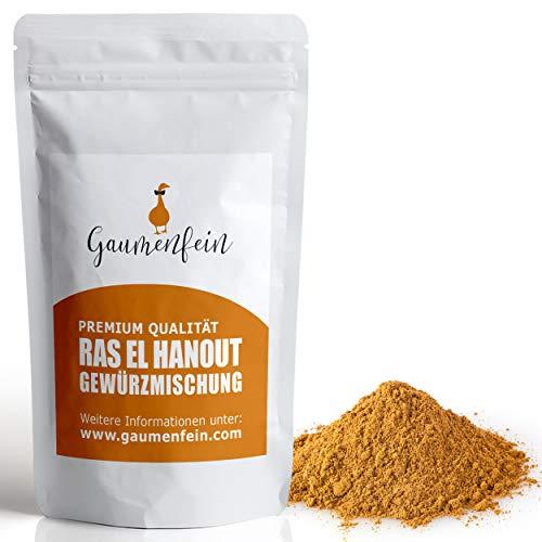 GAUMENFEIN® Ras El Hanout - Orientalische Gewürzmischung - 100% natürliche Premium Qualität - 250g