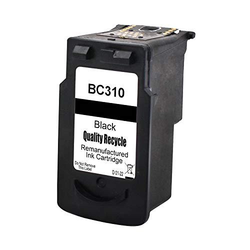 【Delightcolor】再生インク Canon(キャノン)用BC-310 XL(BK)× 1個 BC-310 BC310 310 残量表示付き【対応機種】PIXUS - (MP493, MP490, MP480, MP280, MP270, MX420, MX350, iP2700)