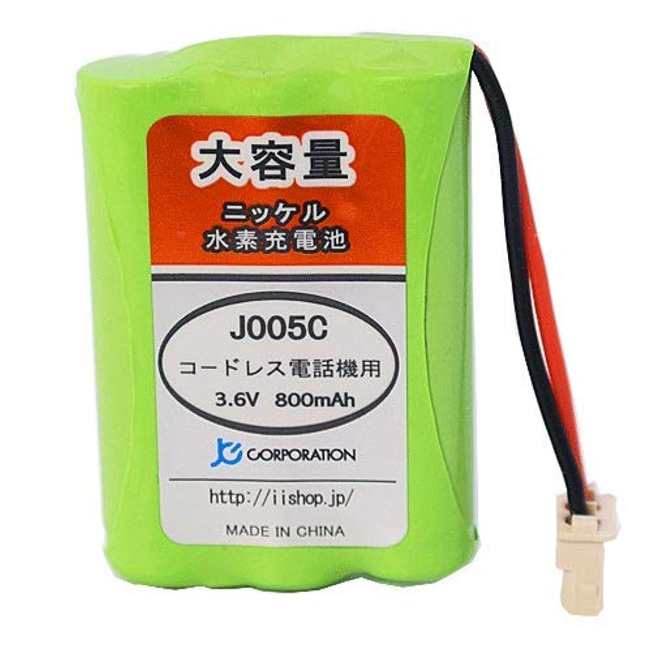 起訴するフォージ顕現JCコーポレーション シャープ コードレス子機用 ニッケル水素(Ni-MH) 大容量 充電池 A-002 同等品