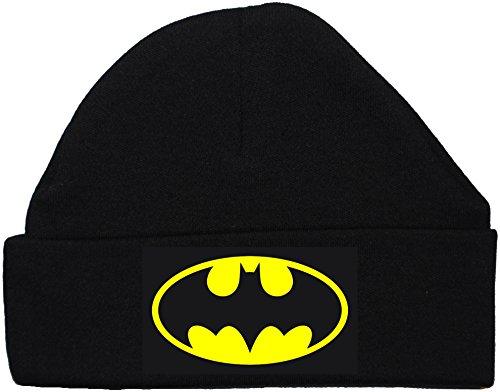 Acce Products Chapeau/Bonnet de Beanie Bat Baby - 6-12 Mois - Noir