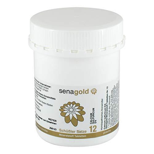 Schuessler Salz Nr. 12 - Calcium sulfuricum, 1000 Tabletten, glutenfrei
