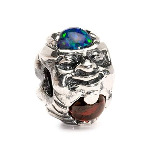 Trollbeads Silber Bead Troll mit Edelsteinen