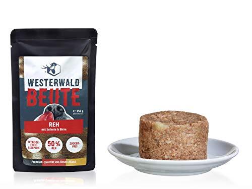 Westerwald-Beute REH mit Sellerie & Birne – 12x150g Beutel im Sparpack
