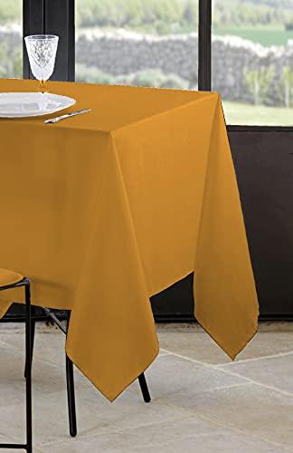 Lovely Casa – Mantel – Modelo Nelson – Curry – 145 x 240 cm – 100% poliéster