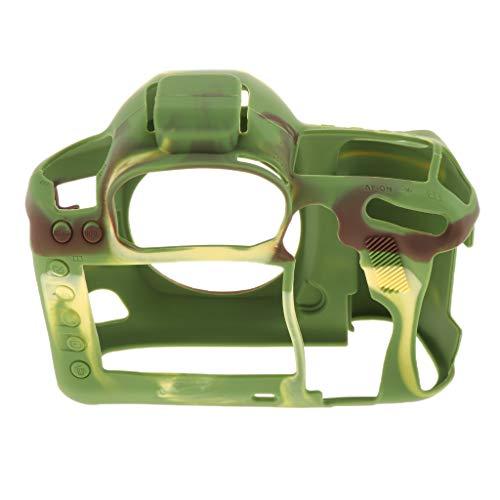 D DOLITY Capa de silicone macia para Canon EOS 5D Mark IV acessório protetor de câmera - camuflagem