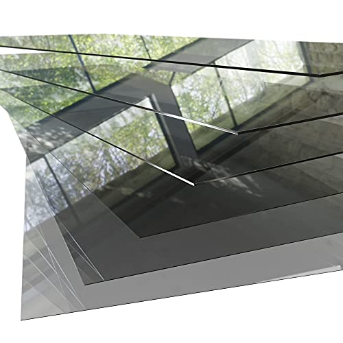 PET Kunststoffplatte ähnlich Plexiglas/Acrylglas - durchsichtig transparent - Platte Scheibe Zuschnitt 2000x1000x2mm mit Schutzfolie