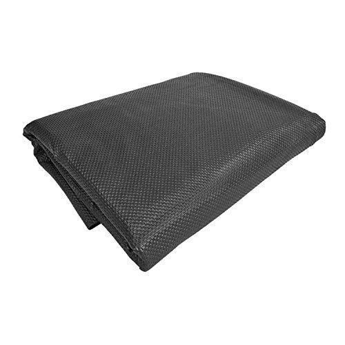 Antirutschmatte 120 x 100 cm schwarz Kofferraummatte Antirutsch-Unterlage zuschneidbar und Flüssigkeitsdicht Rutschmattet