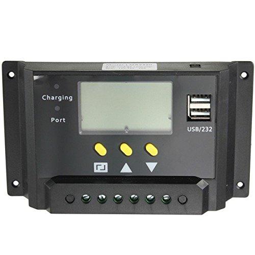 Calli 24v 12v 20a pwm panel solar regulador del precio del regulador solar lcd puerto del precio de usb