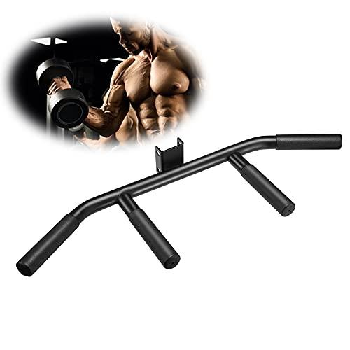 T-Bar Row TTLIFE T-Bar Row Handle Core Strength Trainer Barra de Fitness Para Entrenamiento Muscular en Casa Mango Doble para Barra de Fitness Adecuado para mancuernas de 25 mm y 50 mm