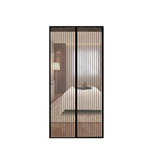 Rideau Anti Mouche Moustiquaire Porte Aimant/éE Facile /à Installer pour Porte d Entr/ée Int/érieur//Patio//Coulissante Rideau Aimant/é pour 140x210cm Blanc 55x83inch