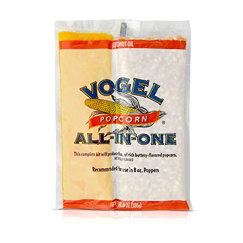 Best Buy! Vogel All in One Coconut Oil Popcorn Kit, 10.6 Ounce (Pack of 24)