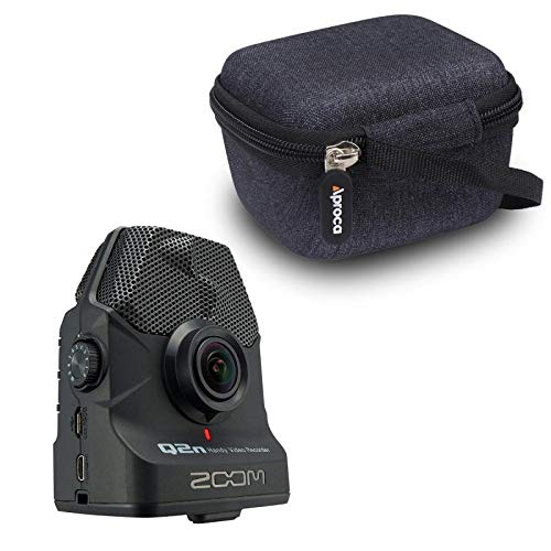 Aproca Hard Storage Carrying Travel Case for Zoom Video Recorder (Q2n-4K) (Black Photo #4