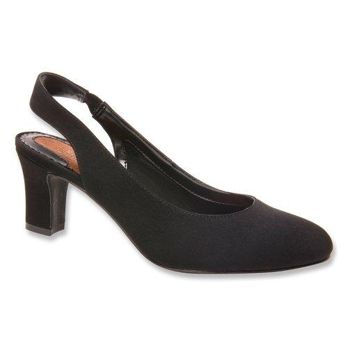 ROS Hommerson Vicki - Women's Dress Heel Blk Micrtch - 8.5 Medium
