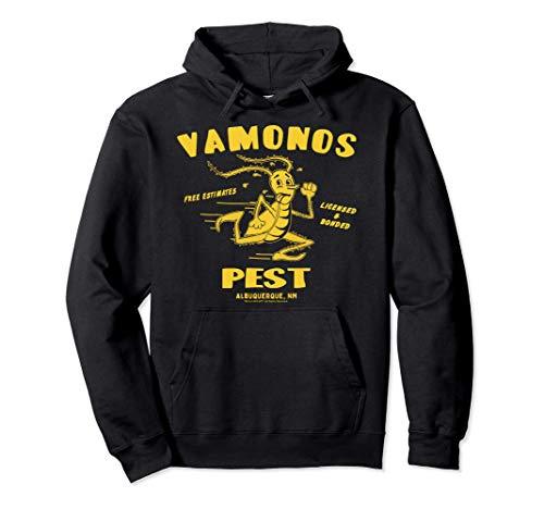 Breaking Bad Vamanos Pest Yellow Insect Logo Felpa con Cappuccio