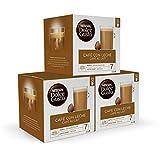Nescafé DOLCE GUSTO Magnum CAFÉ CON LECHE - Cápsulas de Café 3 x 30 - 90 Cápsulas