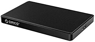ORICO 2.5 Hard Drive Enclosure USB 3.0 to SATA Metal Mesh External Hard Drive Case for 2.5inch 7mm/9.5mm SSD/HDD, Supports...