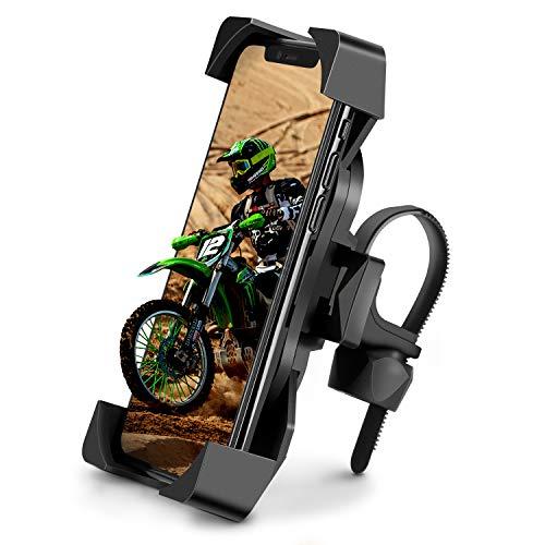 Eono by Amazon–Handyhalterung Fahrrad, 360° drehbar Handyhalter Fahrrad Motorrad Handyhalterung, Universelles Design für Handy einschließlich iPhone, Samsung, Huawei und alle 4.0-6.8 Zoll Geräte