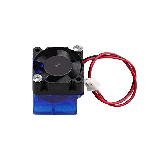 Durable 1 juego de ventilador de refrigeración 3010 12V 24V 30x30x10mm con ventilador de refrigeración de conducto moldeado por inyección 5 cuchillas para impresora 3D Extrusora V6 Accesorios de impre