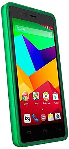 BQ E000433 - Funda Flexible para BQ Aquaris E5 4G LTE, Color Verde