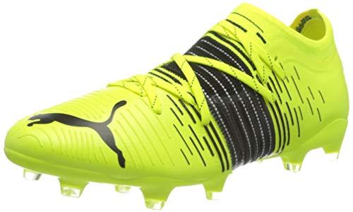 Puma Future Z 1.1 FG/AG, Zapatillas de fútbol Hombre, Yellow Alert Black White, 40 EU