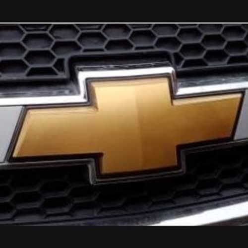 HTTY Emblema Badge Adesivo 3D Auto emblema Griglia Anteriore Tronco Logo Ricambio Per Chevrolet Captiva 2007-2010-2015 Accessori Auto (Taglia : Segno Anteriore)