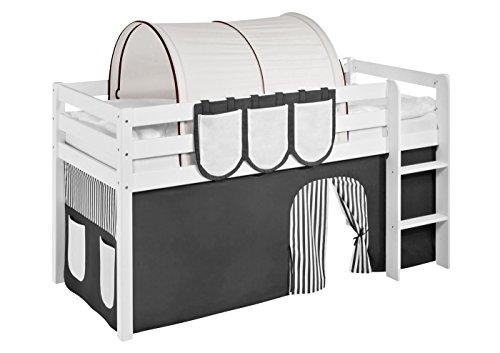 Lilokids Tunnel Braun Beige - für Hochbett, Spielbett und Etagenbett