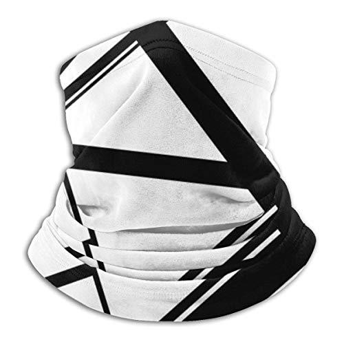 Frankenstein Pattern (Black &Amp; White) Bandana for Rave Face Mask Dust Wind UV Sun Neck Gaiter Headwear for Women Men
