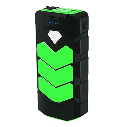 Haude Arrancador de Emergencia para AutomóVil BateríA MultifuncióN PortáTil Dispositivo de Arranque 12V Universal Verde