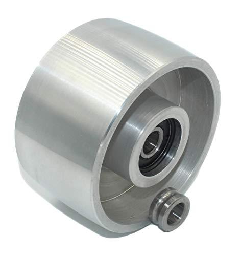 (Tracking – 100) CNC mecanizado, rueda de guía para afilador de cuchillos, diámetro 100 mm, ancho 55 mm