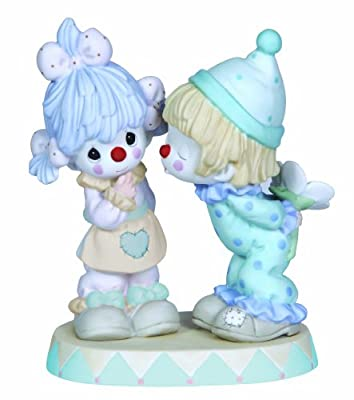 Precious Moments, It's Funny How Much I Love You, Bisque Porcelain Figurine, 123011
