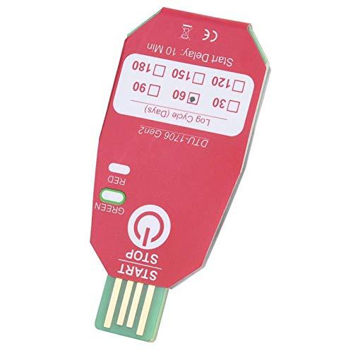 Termómetro USB Registrador de temperatura Registrador de datos de 60 días Registrador de temperatura de cadena de frío Industria química para biomedicina alimentos frescos