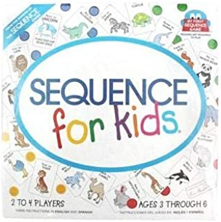 Jax Sequence Kids 8004 Card Game
