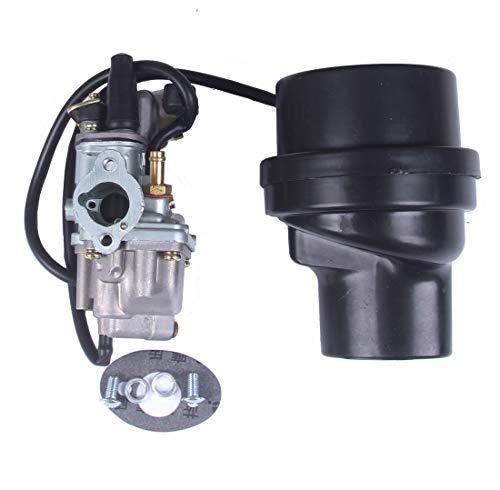 BH-Motor New Carburetor Carb & Air Filter Box For Suzuki ATV Quadmaster 50 LT-A50 2002-2005 LT50 LT 50 1983-1987
