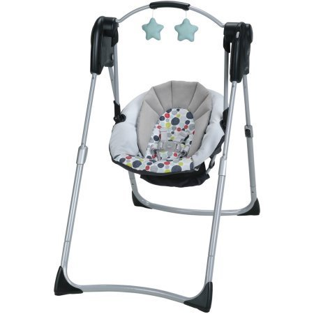Review Of Graco Slim Spaces Compact Baby Swing, Etcher