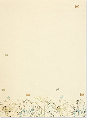 Butterflies: Letter-perfect Stationery (Letter-perfect Stationery Series)
