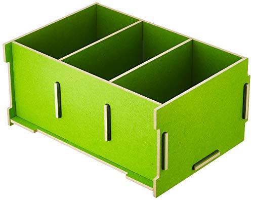Werkhaus Medienbox CD (stapelbar) grün, 1150 g