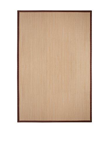 Estores Collection Living Fibras Alfombra Natural 120 x 180 cm, 80% PVC-20% Poliéster