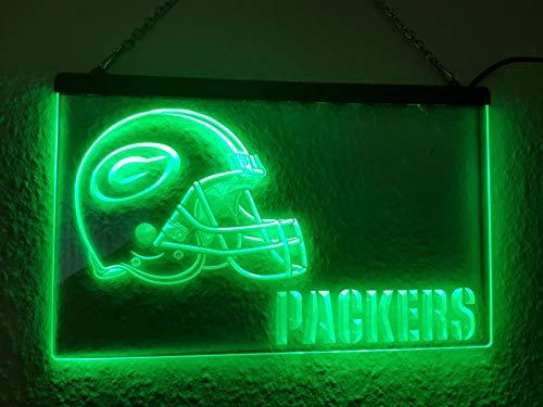 Green Bay Packers Leuchtschild LED Neu Schild NFL USA Neon/neonschild zum hinstellen